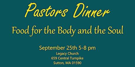 Pastors Dinner and Encouragement tickets