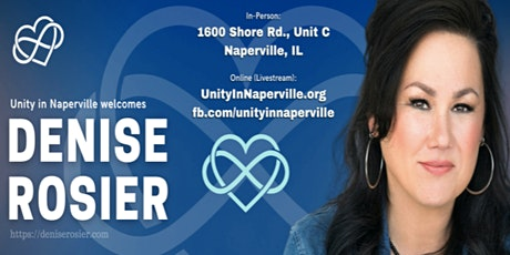 Denise Rosier Concert presented by Unity in Naperville tickets