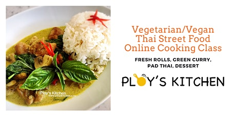 Vegetarian/Vegan Thai Street Food tickets