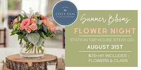 Summer Blooms Flower Night tickets