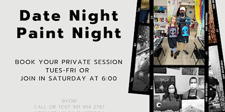 August Date Night Paint Night tickets