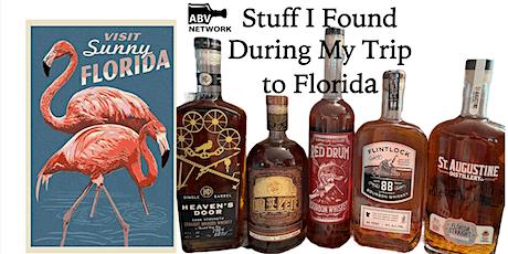 Bourbon / Whiskey Tasting: Stuff I Found On My Trip to Florida (5 Samples!) tickets