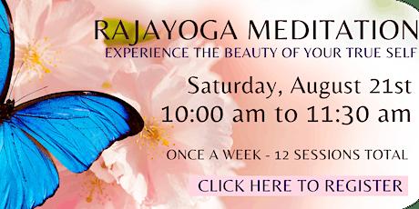 Raja Yoga Meditation - English Online Course (12 weeks) tickets