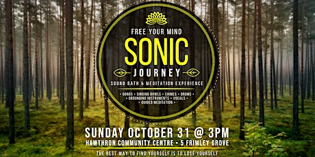 Sonic Journey - Sound Bath and Meditation Experience tickets