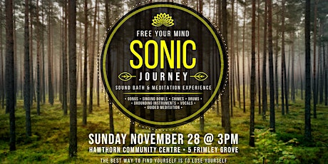 Sonic Journey - Sound Bath and Meditation Event tickets