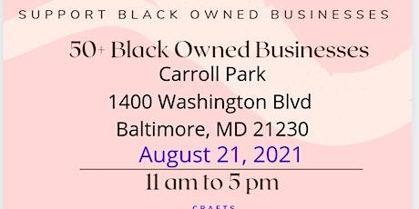 Black Business Vendors Market tickets