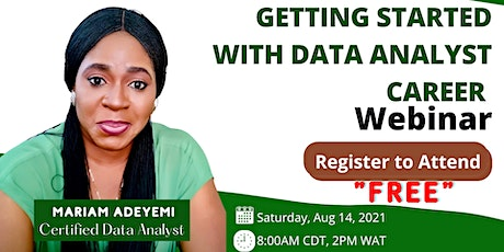 Getting Started with Data Analyst Career tickets