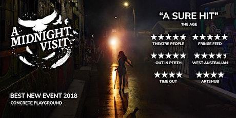 A Midnight Visit: August 28 Saturday tickets