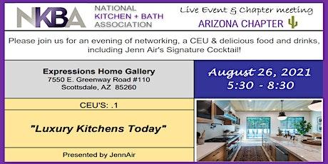 """Luxury Kitchens Today"" Presentation by JennAir tickets"