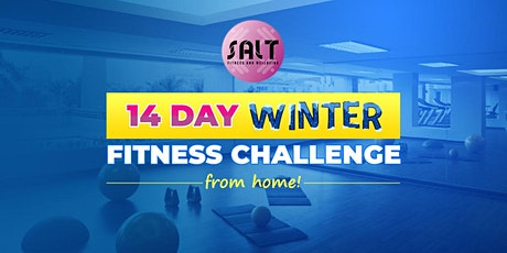 14 Day Winter  Fitness Challenge from Home billets