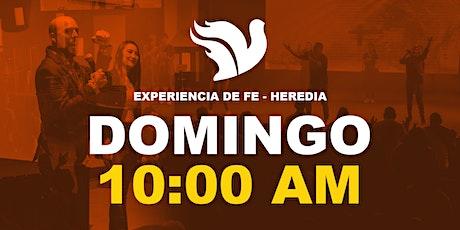 Experiencia de Fe 10:00am Sede Heredia entradas