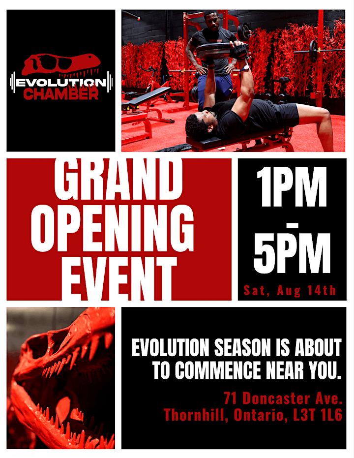 Evolution Chamber - Grand Opening image