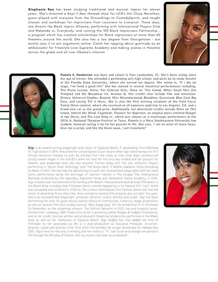 Black Theatre Fringe Festival of South Florida 2021 - FESTIVAL TICKETS image