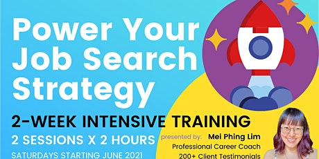 Power Your Job Search & LinkedIn Strategy⚡2-Week Intensive Training Tickets