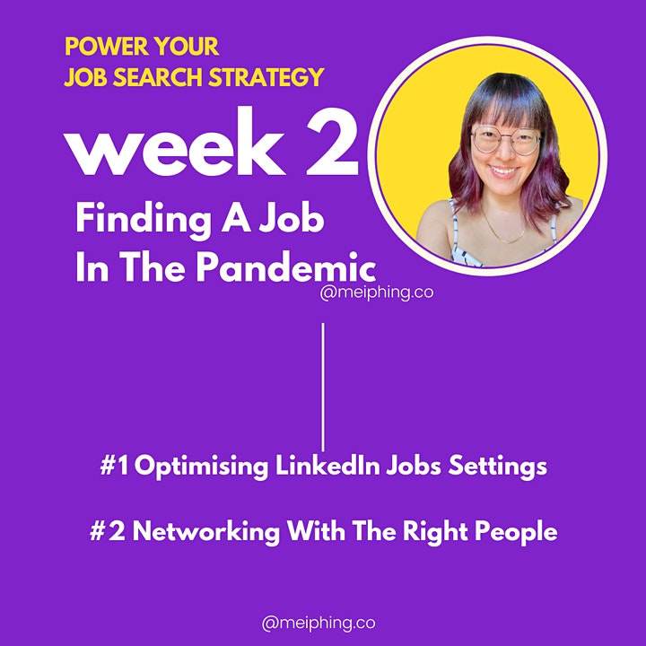 Power Your Job Search & LinkedIn Strategy⚡2-Week Intensive Training image