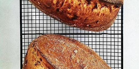 Sourdough bread baking workshop tickets