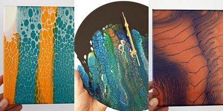 Fluid Art - Canvas and Clock Painting Workshop tickets