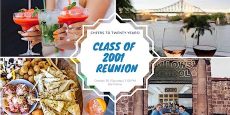 AHS Class of 2001 - 20 Year Reunion tickets