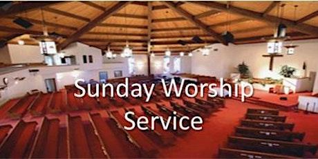 Sunday Worship Registration tickets