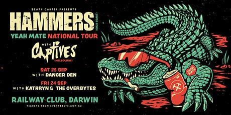 Hammers + Captives + Kathryn & The Overbytes (Show 1) tickets