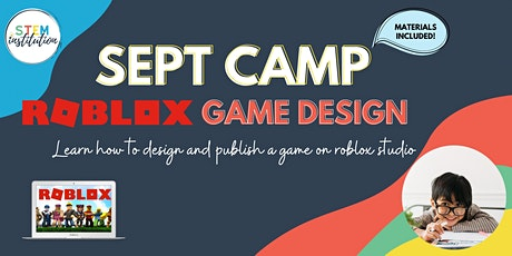 Roblox Game Creation September Holiday Camp tickets