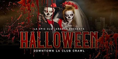 2021 Downtown Los Angeles Halloween Club Crawl tickets