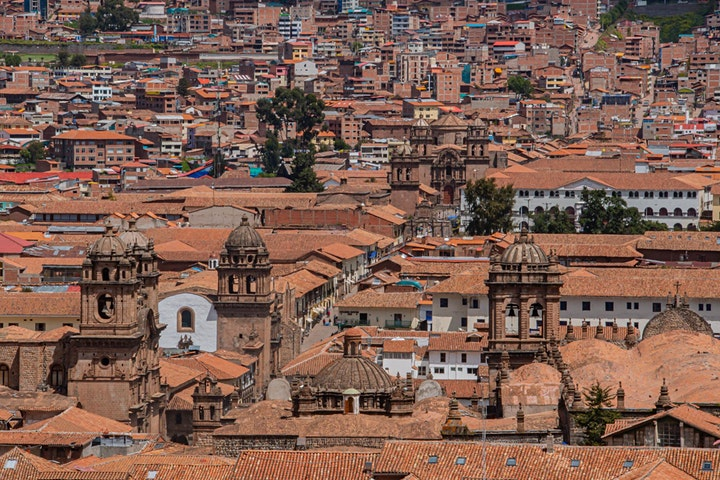 Stroll Through The Charming Streets Of Cusco image