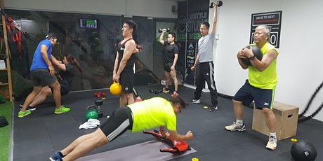 Morning HIIT Madness! tickets