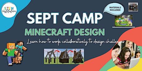 Minecraft Design September Holiday Camp tickets