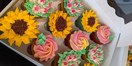 Buttercream flowers cupcake decorating workshop tickets