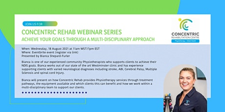 Concentric Rehab - Achieve your goals through a multi-disciplinary approach tickets