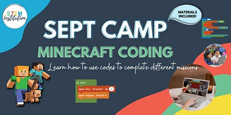 Minecraft Coding September Holiday Camp tickets
