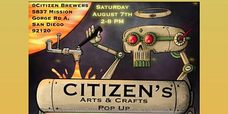Arts, Crafts & Beer! Pop up tickets