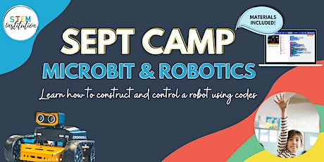 Microbit and Robotics September Holiday Camp tickets