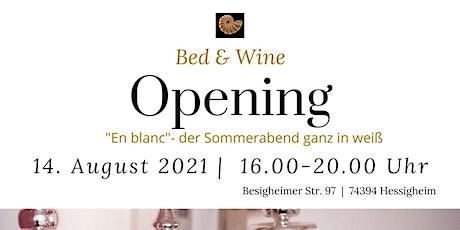 """Weinevent """"En blanc""""- der Sommerabend ganz in weiß (Eröffnung) Tickets"""