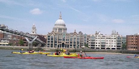 ** Kayak Bus (Greenwich to Battersea). tickets