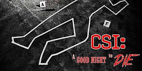 CSI: A Good Night to Die - Virtual Escape Game tickets