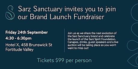Sarz Sanctuary & Sarz Spirit Foundation   Brand Launch tickets