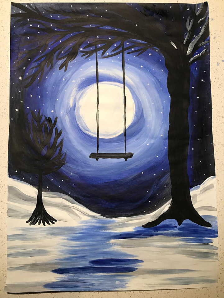 Paint and Sip - Winter Swing image