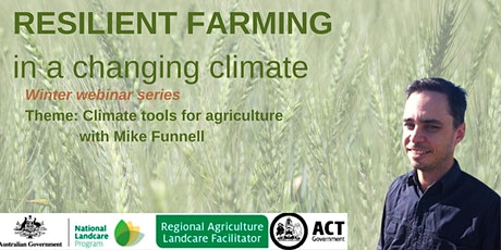 Resilient Farming in a changing climate- Climate Tools for Agriculture tickets