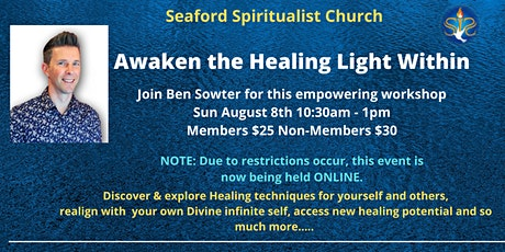 Awaken the Healing Light Within Workshop tickets