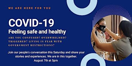 Fighting the Stigma: Fairfield Community Covid19  Impact tickets