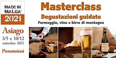 Masterclass Made in Malga biglietti