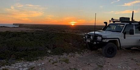 Visual presentation Southern Australia overland trip, landscapes, deserts tickets