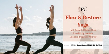 """""""Flow and Restore Yoga"""" with Powerful Grace Club tickets"""