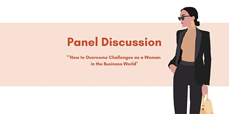 """""""How to Overcome Challenges as a Woman in the Business World"""" tickets"""