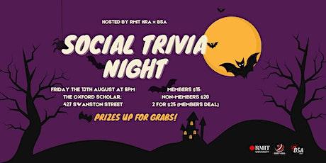 HRAxBSA Social Trivia Night! tickets