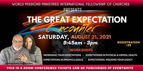 The Great Expectation Encounter Conference Tickets