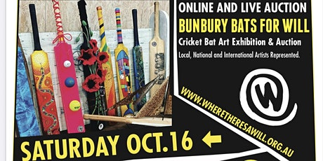 Bunbury Bats For Will  Cricket Bat Exhibition and Auction tickets