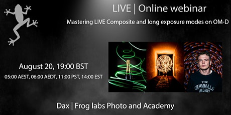 Mastering LIVE Composite and Long Exposure modes on OM-D Tickets
